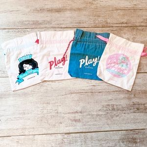 ⭐️3 for $21⭐️Four Sephora reusable drawstring bags